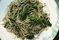 天津年夜饭必备之葱绿新芽的做法