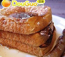 简捷法式烤面包的做法