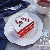 红丝绒蛋糕#我的莓好食光#的做法图解19
