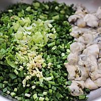 #硬核菜谱制作人#牡蛎韭菜粉嫩饺子的做法图解6