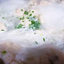 白萝卜鲜虾丸子汤