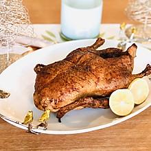 脆皮烤鸭没有传说的那么难做#钟于经典传统味#