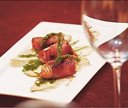 大虾培根卷的做法