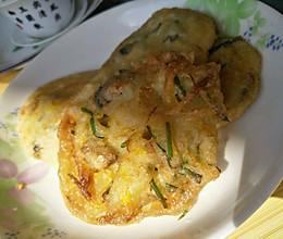 这不是什么普普通通的油饼~这是吃了还想吃的海蛎煎油饼哟的做法