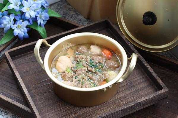 丸子羊肉汤的做法
