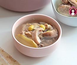 #快手又营养,我的冬日必备菜# 猪肚白果鸡汤的做法