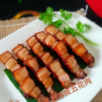 姜葱陈皮卤五花肉