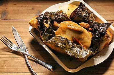 COUSS(卡士)烤箱CO-750A食谱之荷叶面包鸡