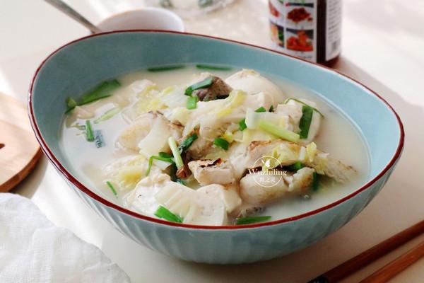 【豆腐炖鱼汤】的做法