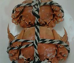 【初秋品蟹】清蒸大闸蟹的做法