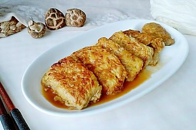 裹蛋白菜肉菇包