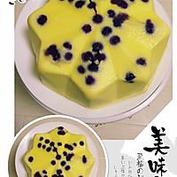 钻石蓝莓乳酪的做法图解3