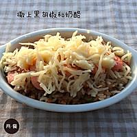 两餐厨房丨冬日意式甜虾焗饭的做法【两餐原创】的做法图解11