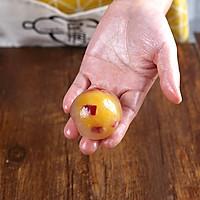 水晶月饼在家做,一口咬出五彩馅料的做法图解13