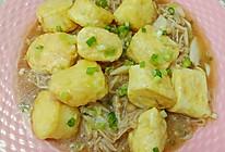 金针菇日式豆腐的做法