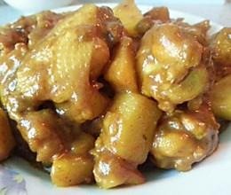 简单版土豆咖喱鸡翅的做法