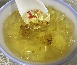 桂花凉粉的做法