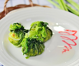 蒸白菜包的做法