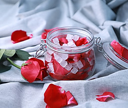 自制玫瑰醋,美容养颜,喝出一身轻!的做法