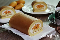 制作蛋糕卷的小窍门【芒果奶油蛋糕卷】的做法