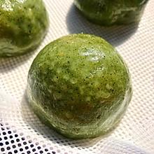 #精品菜谱挑战赛#咸蛋黄肉松青团