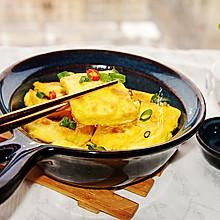 #换着花样吃早餐#香煎老豆腐