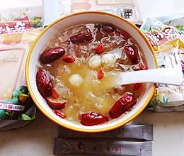 #糖小朵甜蜜控糖秘籍#银耳莲子红枣枸杞羹的做法