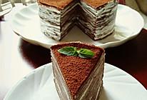 巧克力乳酪法式千层蛋糕的做法