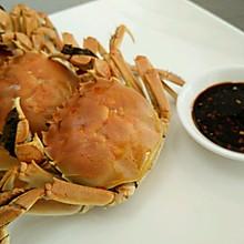 美味蒸河蟹