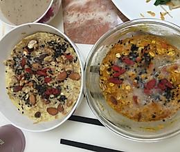 减肥食谱:微波炉烤南瓜燕麦的做法