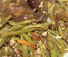 肉沫扁豆丝的做法
