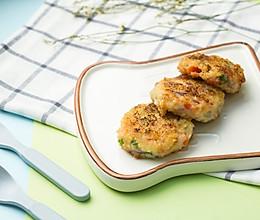 补钙鲜虾饼的做法