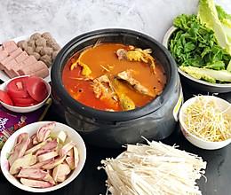 #冬天就要吃火锅#黔味酸汤鱼火锅的做法