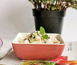 不含沙拉酱的土豆沙拉,减脂期主食担当!的做法