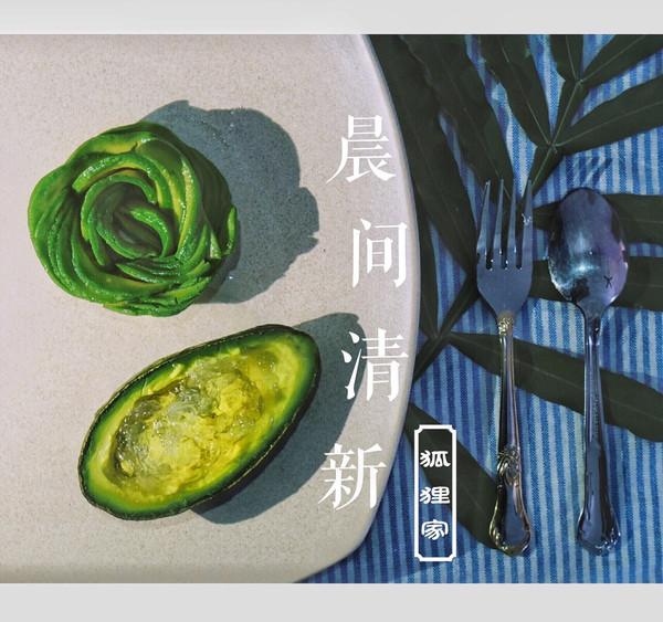 牛油果燕窝 (附赠牛油果花制作方法)