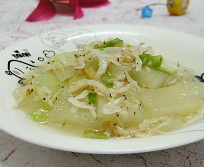 清炒冬瓜虾皮