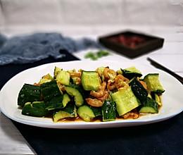 海米拌黄瓜的做法