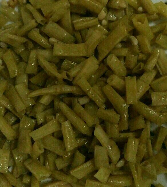 超简易自制酸豆角,腌豆角酸
