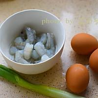 虾仁蒸蛋的做法图解1
