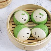 #母亲节,给妈妈做道菜#粽子表情包馒头的做法图解12