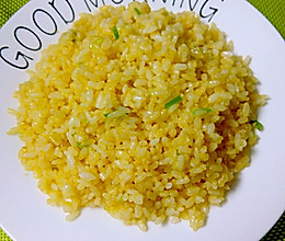 黄金蛋炒饭的做法