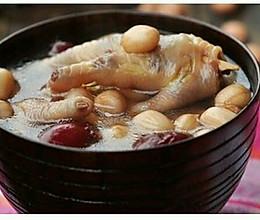 产后系列之花生鸡脚汤的做法