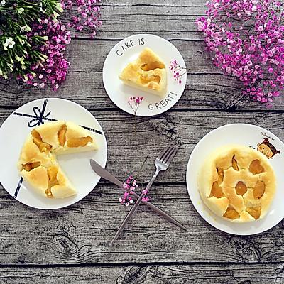 黄桃酸奶戚风蛋糕