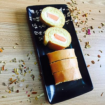 奶酪木瓜蛋糕卷