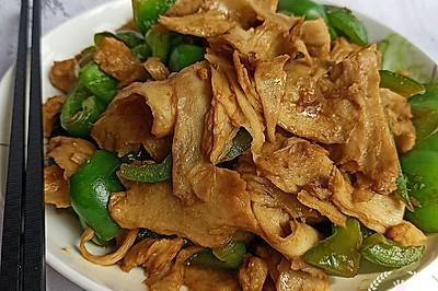 记忆中的菜——面筋炒青椒赛过肉