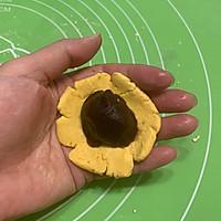 豆沙馅南瓜饼#馅儿料美食,哪种最好吃#的做法图解5