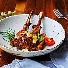 法式迷迭香烤羊排
