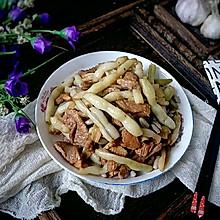 #花10分钟,做一道菜!#猪肉小炖芸豆