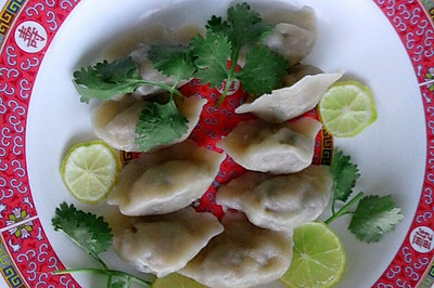 鲜虾水晶饺