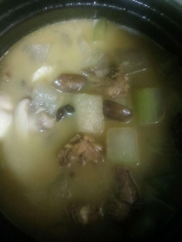砂锅香菇冬瓜炖鸡的做法